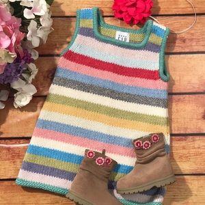 🆕 Gap Adorable Girls Sweater Dress 6-12months
